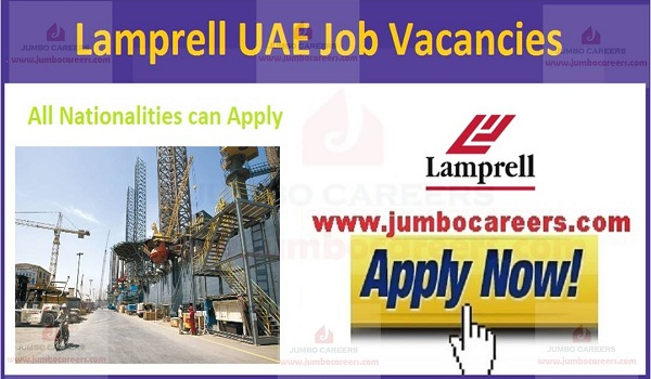 Lamprell Dubai Job Vacancies 2020 | Latest Oil and Gas careers in UAE