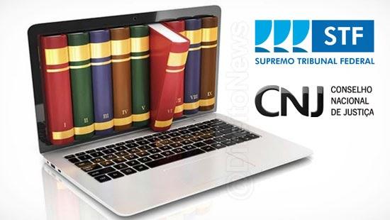 stf cnj acordo compartilhamento informacoes bibliograficas