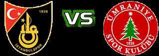 İstanbulspor - Ümraniyespor Canli Maç İzle 14 Aralik 2018