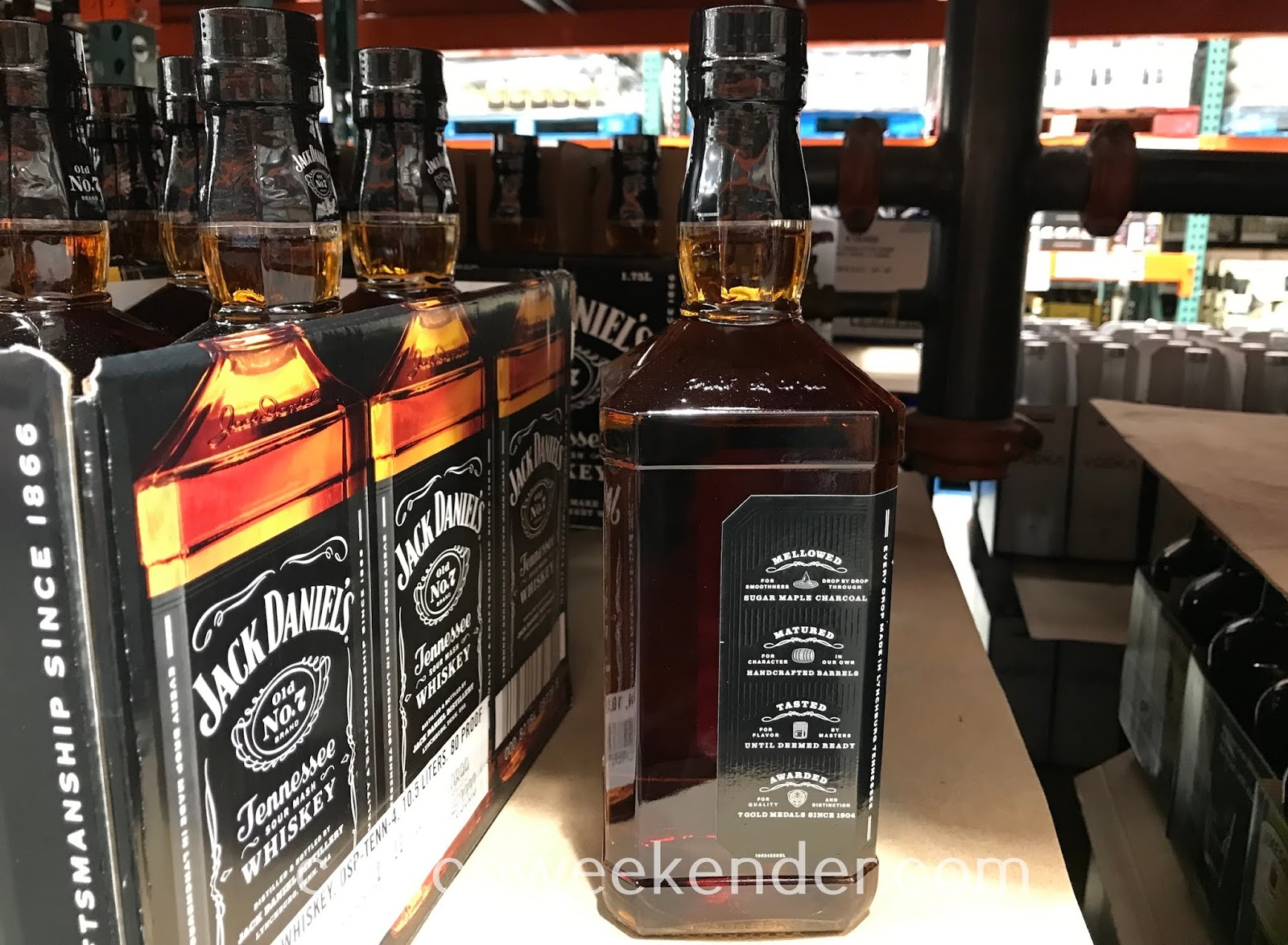 Jack Daniel's Tennessee Whiskey: smooth and palatable