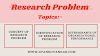Research Problem | Identification of Research Problem | Determinants of Organizational Performance