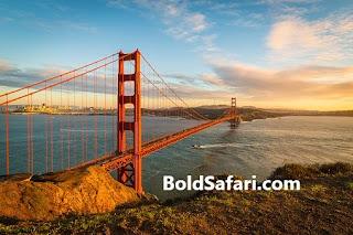 Golden State Bridge, California