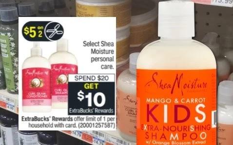 SheaMoisture Hair Care CVS Deal 3/14-3/20