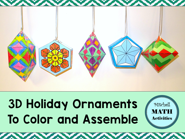Hand-made Christmas ornament project examples