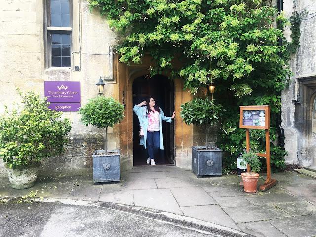Bristol Plus Size Blogger Afternoon Tea at Thornbury Castle