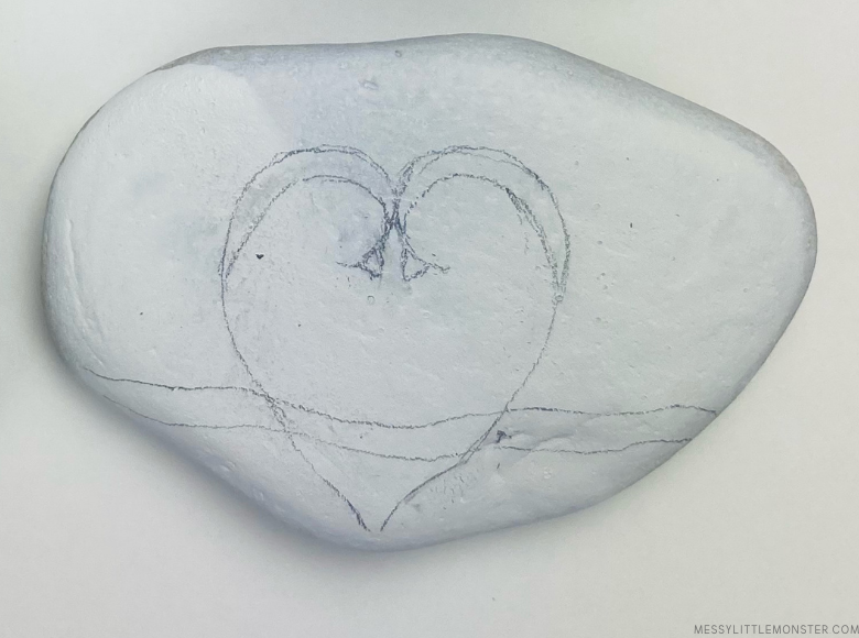 love bird painted rocks