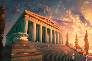 La ricostruzione di Atene per volere di Pericle