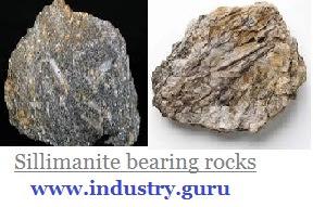 https://www.industry.guru - Sillimanite Rocks image