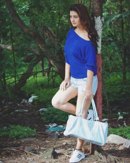 Actress Payal Rajput Latest Cute Photoshoot Pics Navel Queens