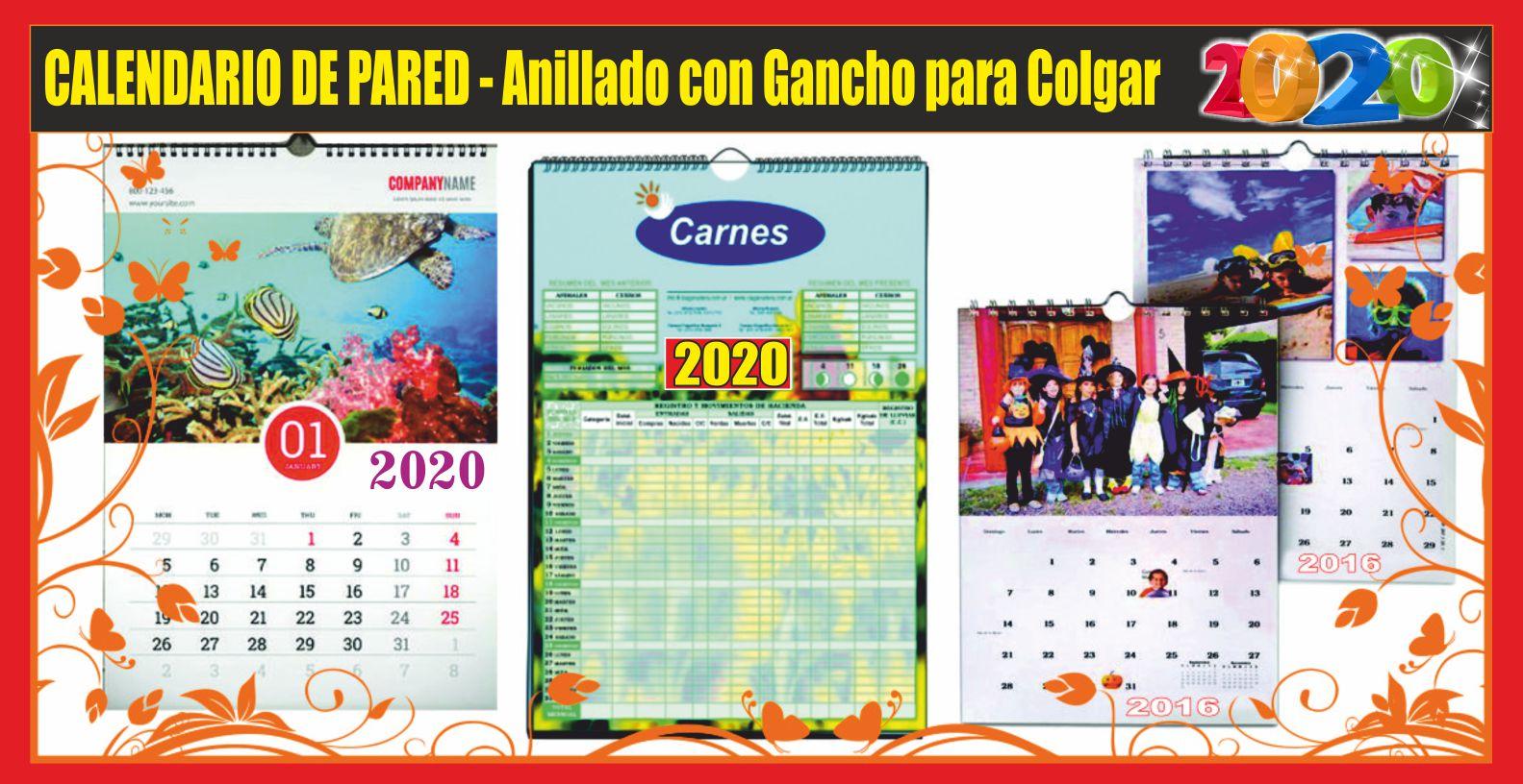 Calendario Marzo 2020 Peru.Imprenta Calendarios 2020