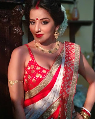 Monalisa (Antara Biswas) is one of the best and beautiful Bhojpuri actress - Photo