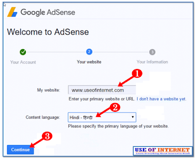 How To Apply Google AdSense Account  in Hindi