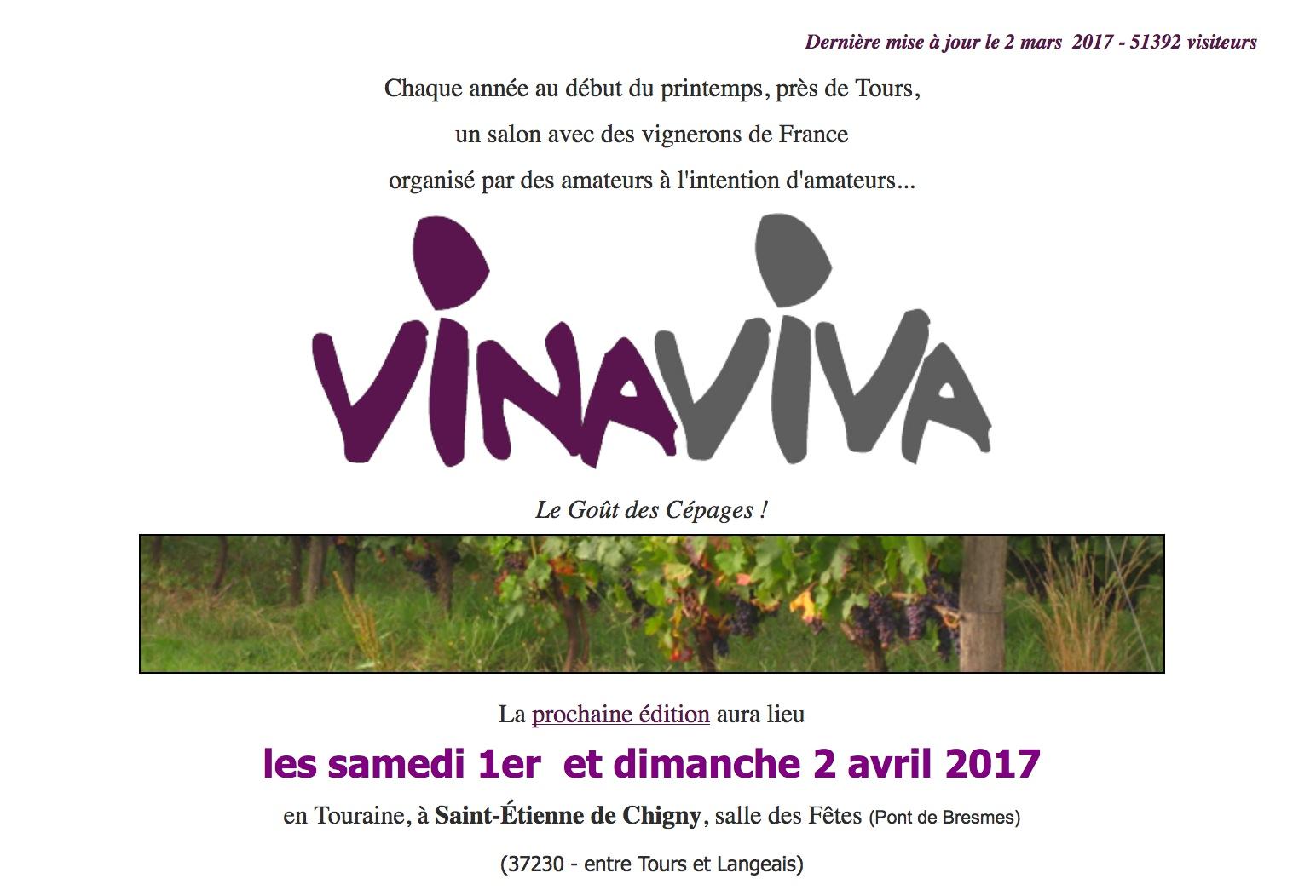 Jim\'s Loire: 2017 Vinaviva (8e salon des vins de libre expression ...