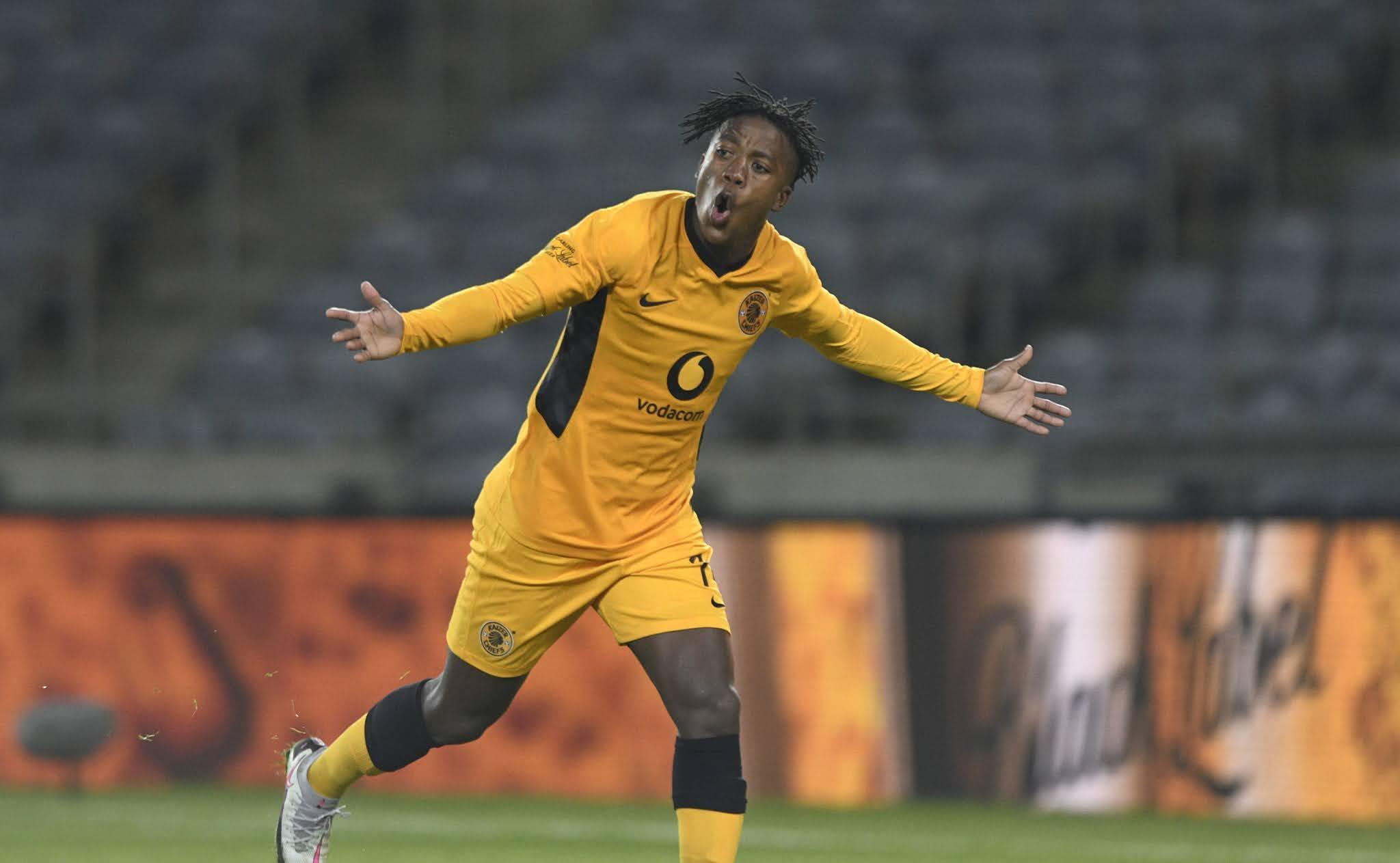Kaizer Chiefs midfielder Kgaogelo Sekgota