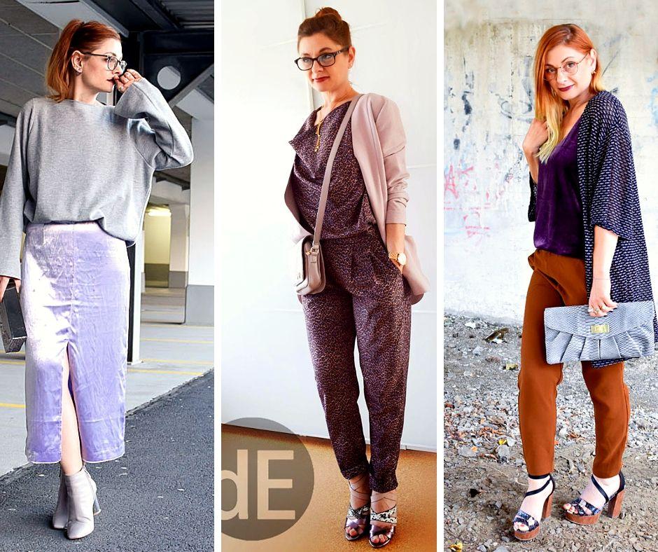 Violett-kombinieren-Outfits-Frauen