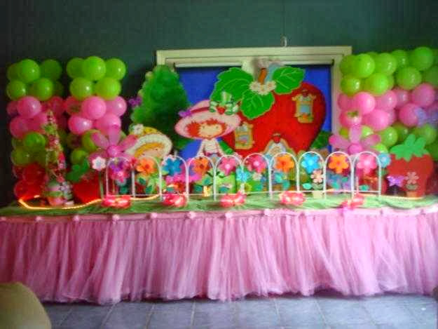 kids birthday party decor picture