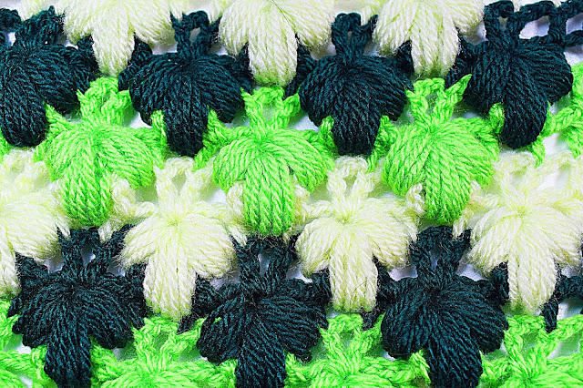 Imagen de puntada verde a crochet y ganchillo Majovel crochet 2