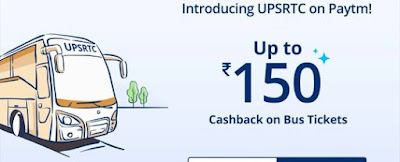 Paytm Offer - Get 50% Cashback Upto Rs.150 On Bus Ticket Booking