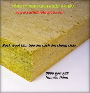 Tấm bông khoáng Rockwool - Tấm chắn nhiệt - Tấm chống cháy - Tấm cách âm  Rockwool%2Btam1