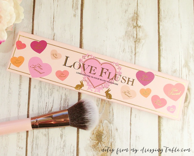 #allofthecolours Too Faced Love Flush Blush Wardrobe | My Notes and Swatches
