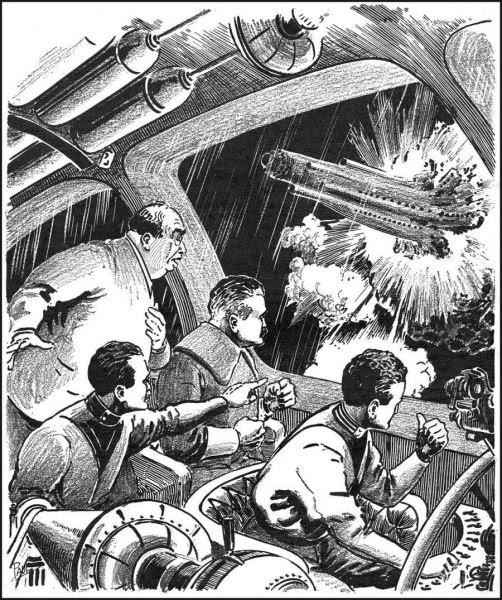 Pixel Atômico Classic Sci Fi Illustrations 8 Boris Vallejo: Pixel Atômico: Black & White Vintage Sci Fi Illustrations