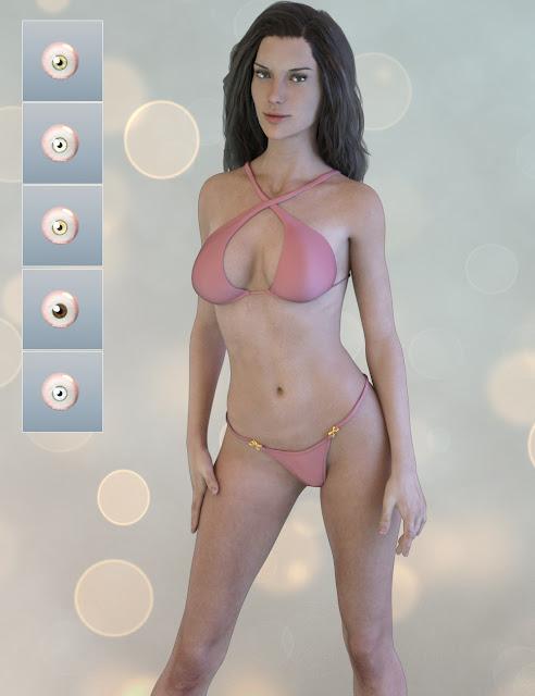 Gaiane for Genesis 3 Female
