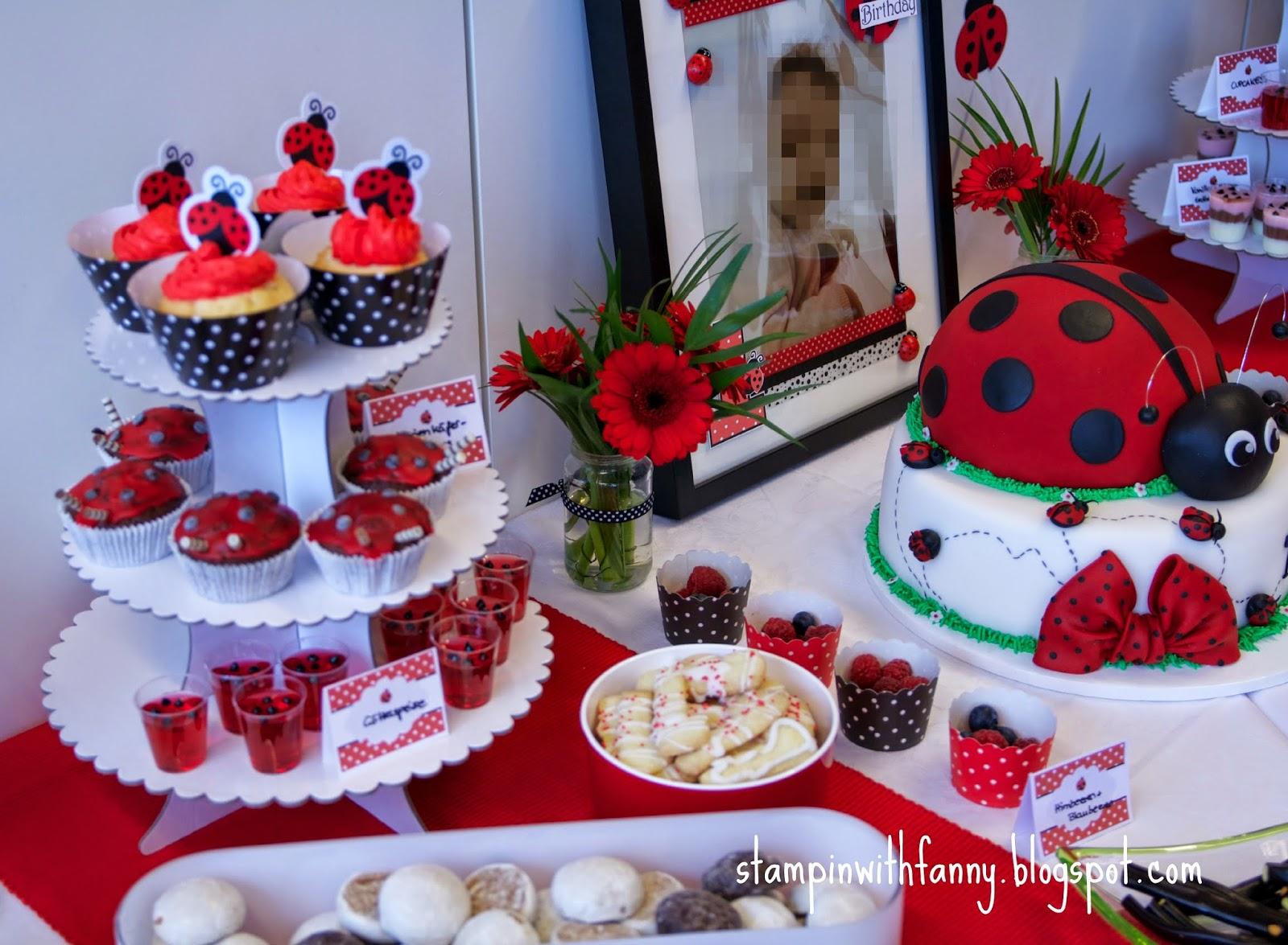 Stampin With Fanny Marienkafer Geburtstag Die Candybar Das