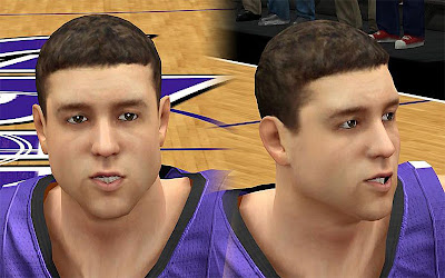 NBA 2K13 Jimmer Fredette Cyberface Patch
