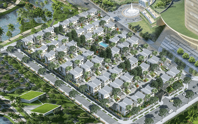 Phân khu biệt thự Khai Sơn Hill