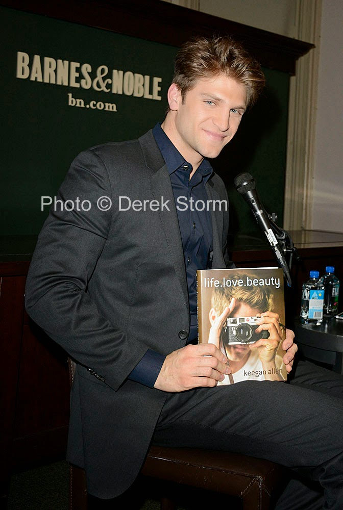 Keegan Allen Book