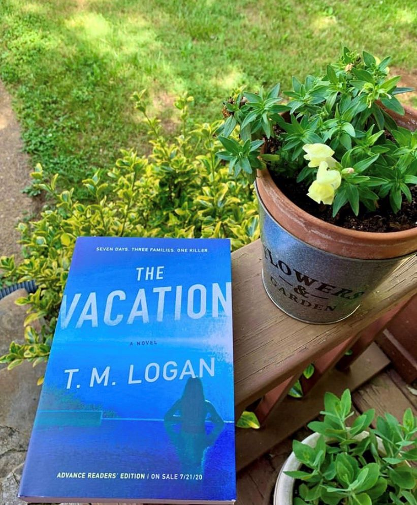 The Vacation by T.M. Logan Book Review #BookedUpAllNightReads