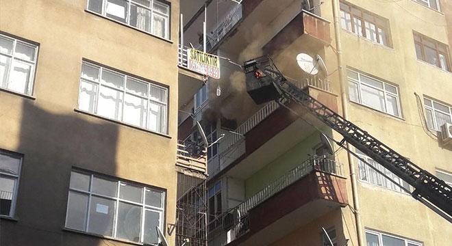 Diyarbakır Yenişehir Kooperatifler Mahallesinde yangın