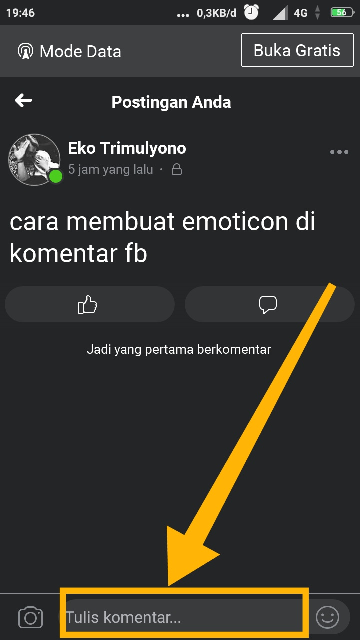 emoticon lucu facebook
