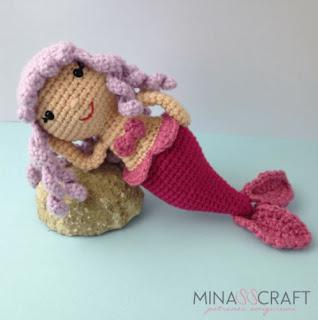 amigurumi mermaid crochet pattern