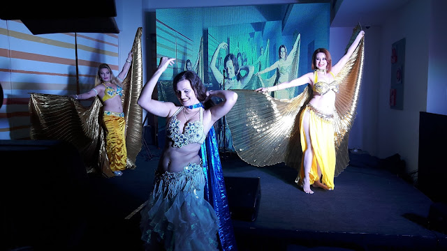 Belly dancers performing at ibis Hyderabad HITEC City