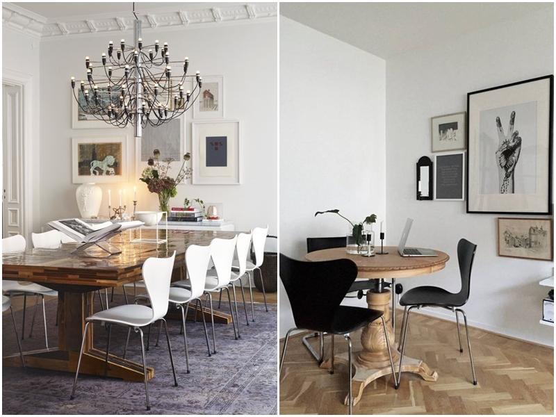 sillas icónicas. Silla series 7 Arne Jacobsen
