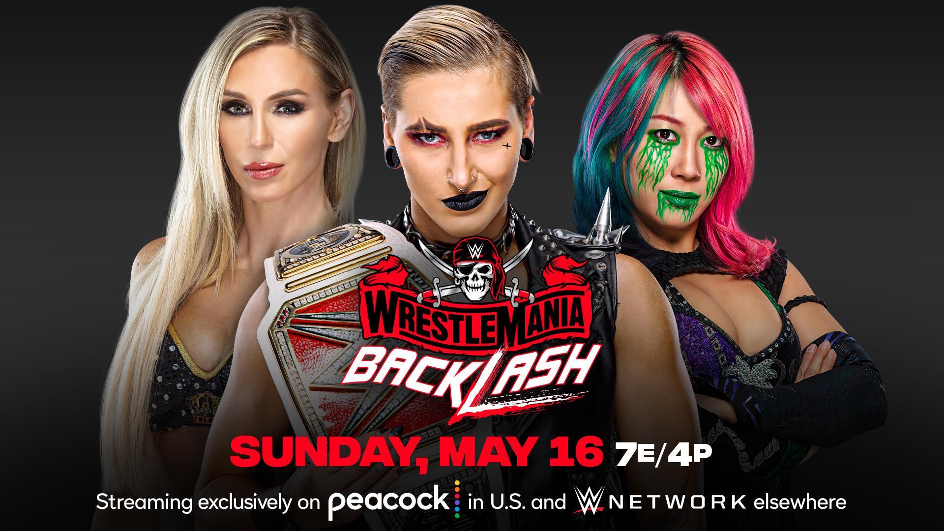Charlotte Flair entra na luta pelo RAW Women's Championship no WrestleMania Bbacklash