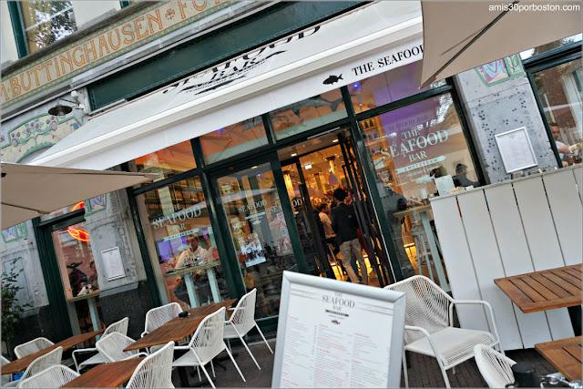 Fachada de The Seafood Bar en Amsterdam