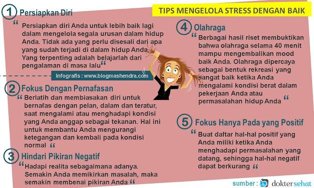 Tips Mengelola Stress Dengan Baik - Blog Mas Hendra
