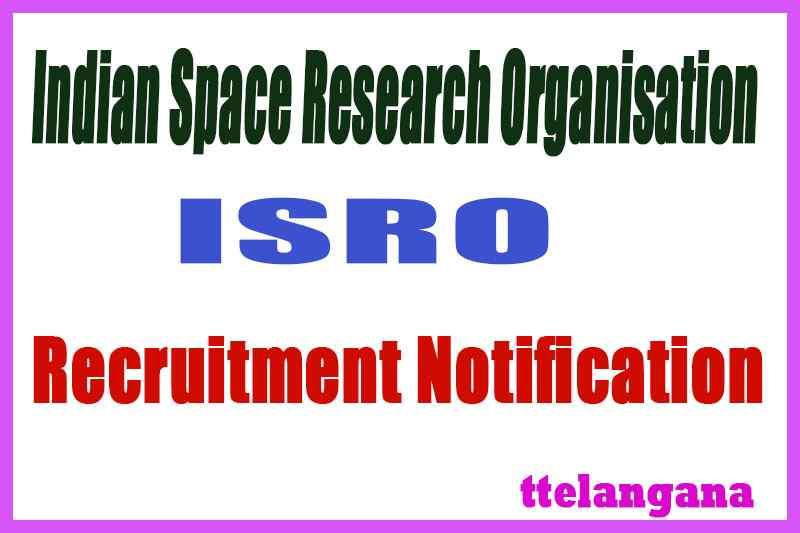 ISRO Indian Space Research Organisation SHAR SDSC Recruitment Notification
