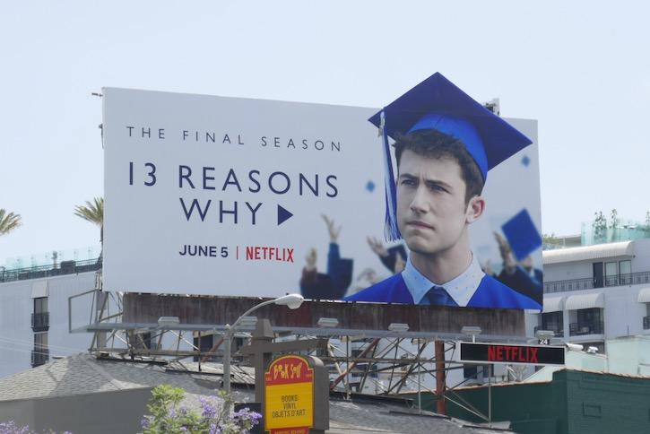 13 Reasons Why final season extension billboard