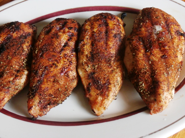 Grilled Southwestern Chicken Breasts
