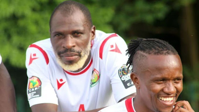 Harambee Stars 26-yr-old defender Joash Onyango  photo