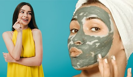 Instant Glow Face Packs For Party At Home : DIY Instant Face Packs