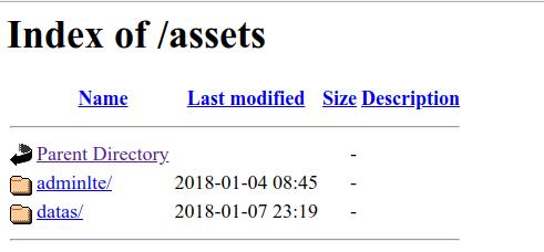 folder assets di halaman website