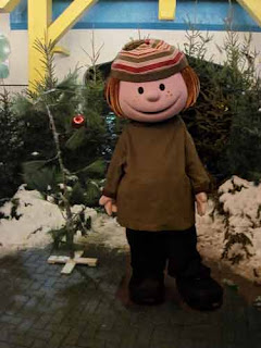 Peppermint Patty & The Charlie Brown Christmas Tree.