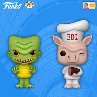 San Diego Comic-Con 2018 Exclusive Spastik Plastik POP! Vinyl Figures by Funko