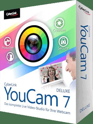 CyberLink YouCam Deluxe box Imagen