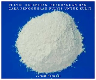 pulvis merupakan campuran kering bahan obat atau zat kimia yang dihaluskan yang digunakan untuk pemakaian oral atau pemakaian luar atau kulit.
