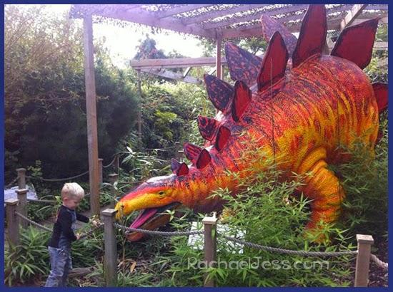 Paradise Park - Dinosaur Safari Path